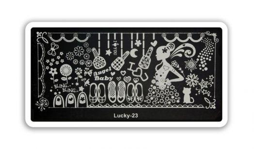 Стемпинг плитка Lucky высшее качество 23