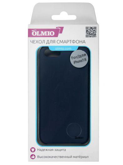 Чехол Velvet для iPhone 7/8 (темно-синий) Olmio