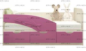 Кровать детская Дельфин 80х160