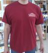 Фирменная футболка Арсенал Мастера, хлопок цвет бордо, размер XL (52-54)