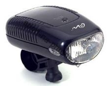 Передний фонарь QL-99N Halogen лампа, с крепежем, цв.серебро