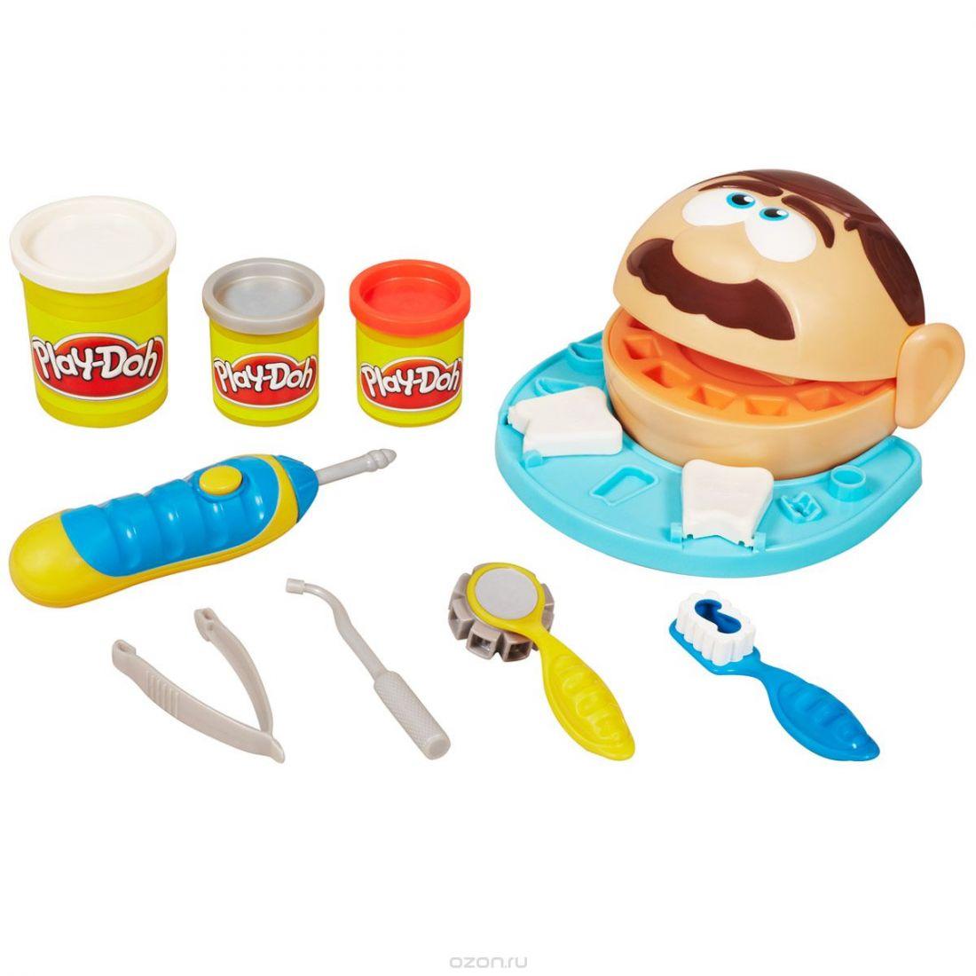 Набор для лепки из пластилина Play-Doh  Мистер Зубастик