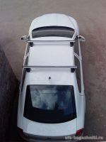 Багажник на крышу Skoda Octavia, Атлант, аэродинамические дуги