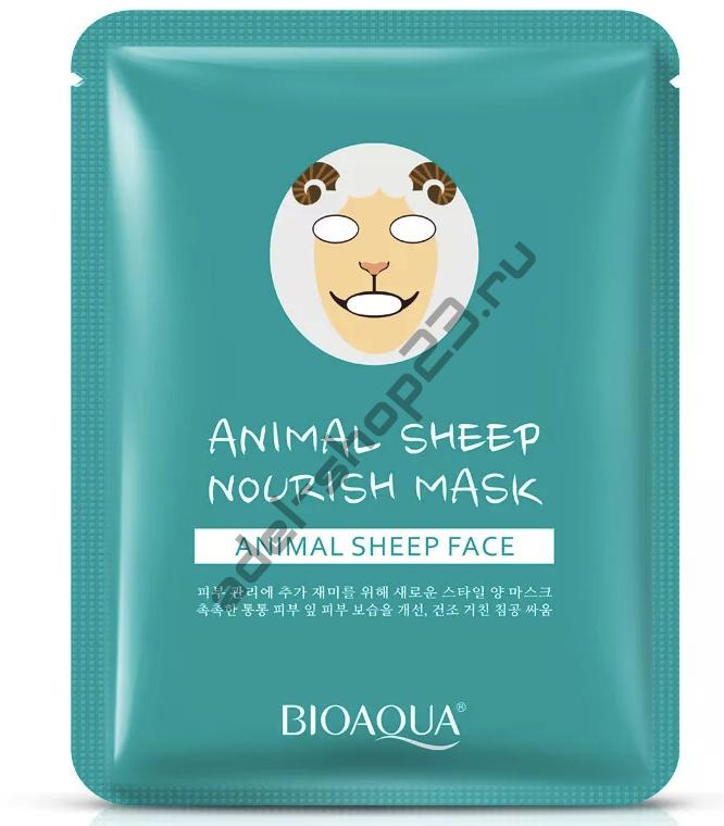 Bioaqua - Маска для лица Animal овечка
