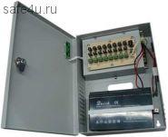 HTV-ББП-8А/8сн 8 каналов 12 В постоянного тока ; Защита от короткого замыкания; Индикация режима работы; Бесперебойное питание; Поддержка батареи 7-17А/ч; Входное напряжение:  88-132V/170-264V  47-63 Hz; Выходное напряжение:12-13,9 V регулируемое; Суммарн