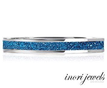 Кольцо Inori с алмазной крошкой