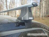 Багажник на крышу Nissan Qashqai, Атлант, аэродинамические дуги