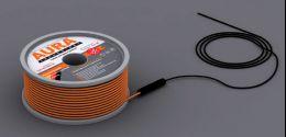 Теплый пол на основе двухжильного нагревательного кабеля AURA Heating  КТА  12м -200Вт