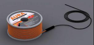 Теплый пол на основе двухжильного нагревательного кабеля AURA Heating  КТА  17.5м -300Вт