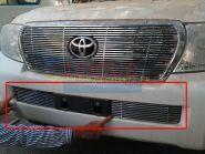 Решетка в передний бампер (Тип 5)  для Toyota Land Cruiser 200 2012 -