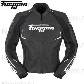 Мотокуртка кожаная Furygan Spectrum, Черный/Белый