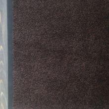 Ковёр Каучук асептик 85 х 150 см чёрно-коричневый