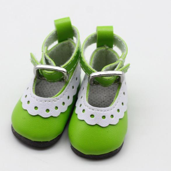 Туфельки для куклы, 4,5 см Зеленые