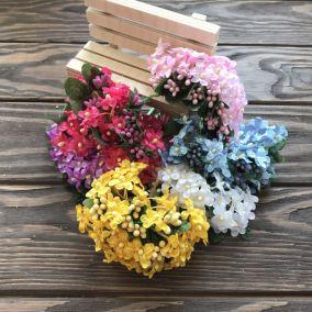 Букет Мелких цветов с тычинками 1см