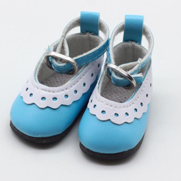 Туфельки для куклы, 4,5 см Голубые