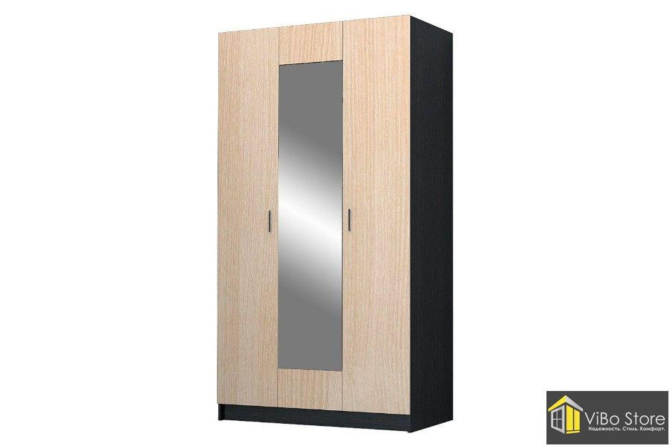 Современный 3-х дверный шкаф Николь