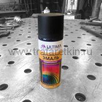 Краска-спрей ULTIMA (черная RAL 9005)