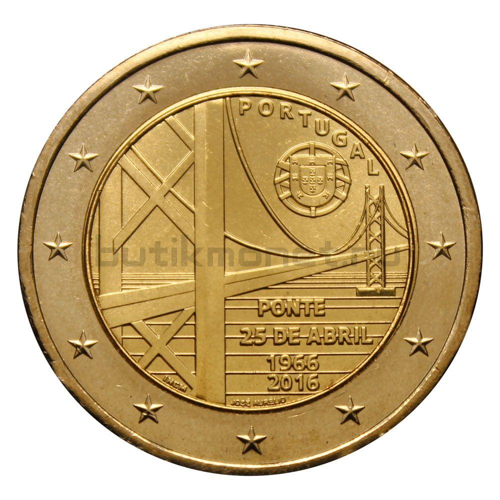 2 евро 2016 Португалия Мост имени 25 апреля