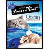 """Fussie Cat """"Морской"""" Комкующийся наполнитель (5 л)"""