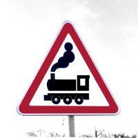 Дорожный знак 1.2 Железнодорожный переезд без шлагбаума.