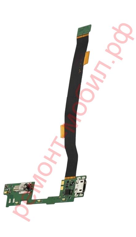 Шлейф для Alcatel One Touch Idol Alpha ( OT-6032X ) с разъемом заряда
