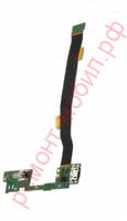 Шлейф для Alcatel One Touch Idol Alpha ( 6032X ) с разъемом заряда