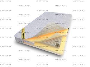 Матрас Luntek Small latex (S1000)