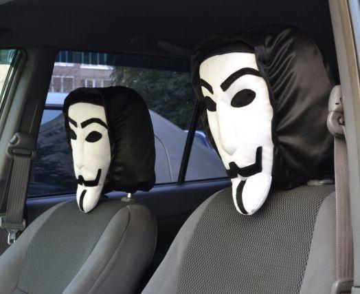 """Чехол в автомобиль для всех типов подголовников """"Вендетта"""""""