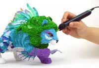 Набор пластика для 3d ручки 5 цветов купить недорого
