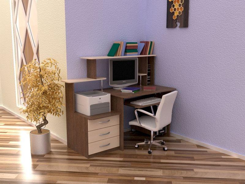 Стол компьютерный с надстройкой СТК-8 NEW