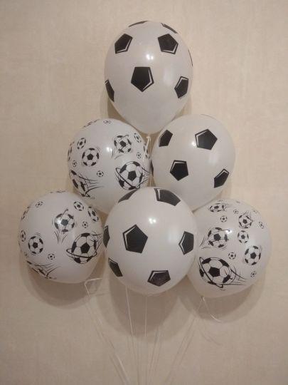 Футбольные мячи латексные шары с гелием