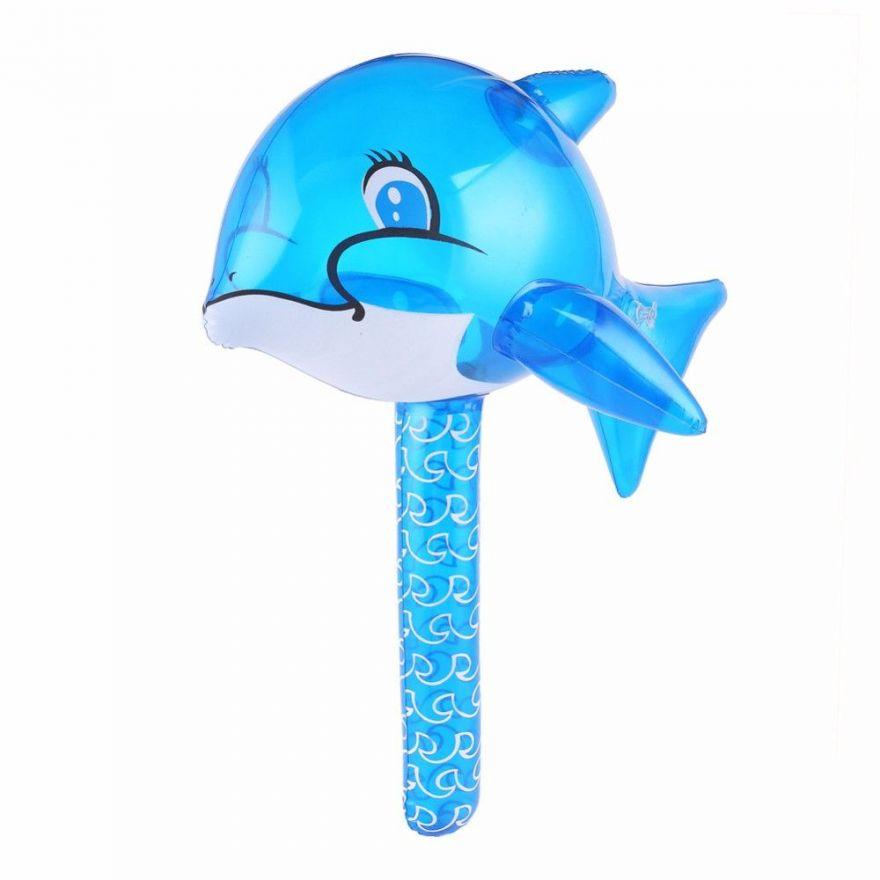 Надувная игрушка-молоток Дельфин
