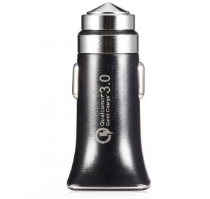Автомобильное зарядное устройство LZ-328 USB Quallcomm Quick Charge 3.0 (быстрая зарядка) (3,1 A) (black)