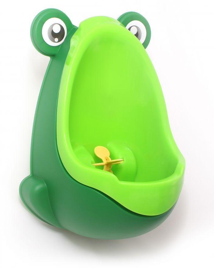 Писсуар для мальчиков с прицелом Лягушка (Цвет: Зеленый)