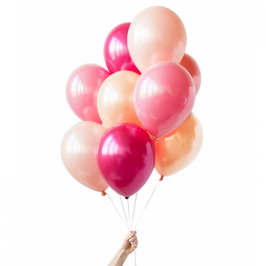 Стеклянный гелиевый шар