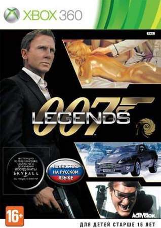 Игра James Bond 007 : Legends (Xbox 360)