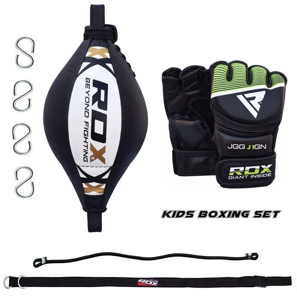Детский боксерский комплект RDX BOX SET J33 - WHITE