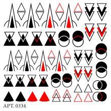 Слайдер-дизайн для ногтей № 0334
