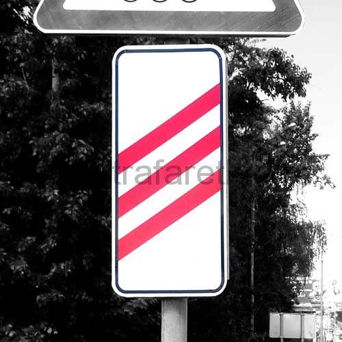 """Дорожный знак 1.4.1 """"Приближение к железнодорожному переезду""""."""