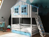 Кровать двухъярусная домик Roof Шале