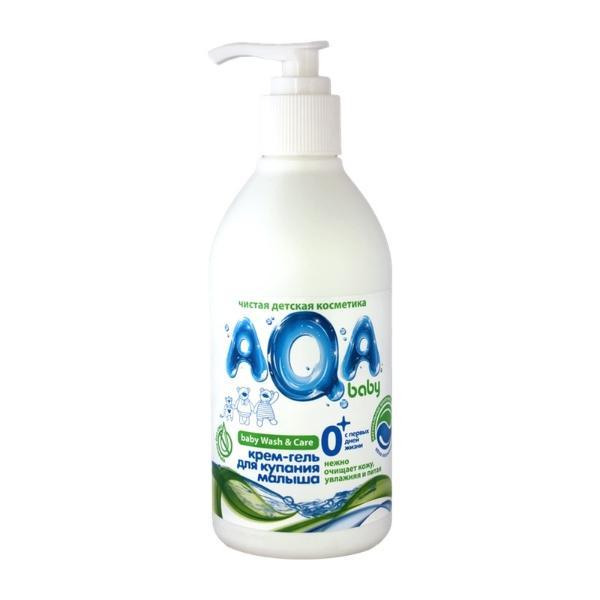 AQA Baby Kids Крем-гель для купания малыша, 300 мл