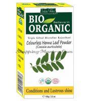 Бесцветная органическая хна для волос Индус Веллей | Indus Valley Bio Organic Colourless Henna Powder