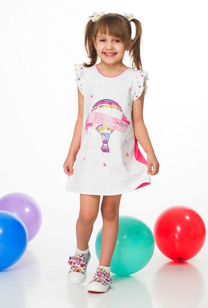 Платье Приключение для девочки 5 лет
