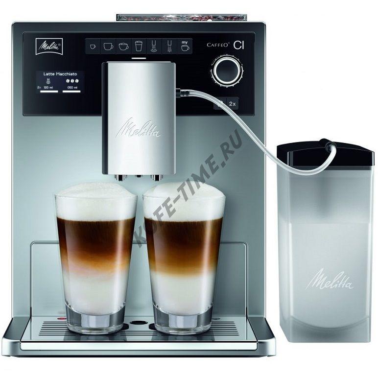 Кофемашина Melitta Caffeo CI Е 970-101 (Silver)