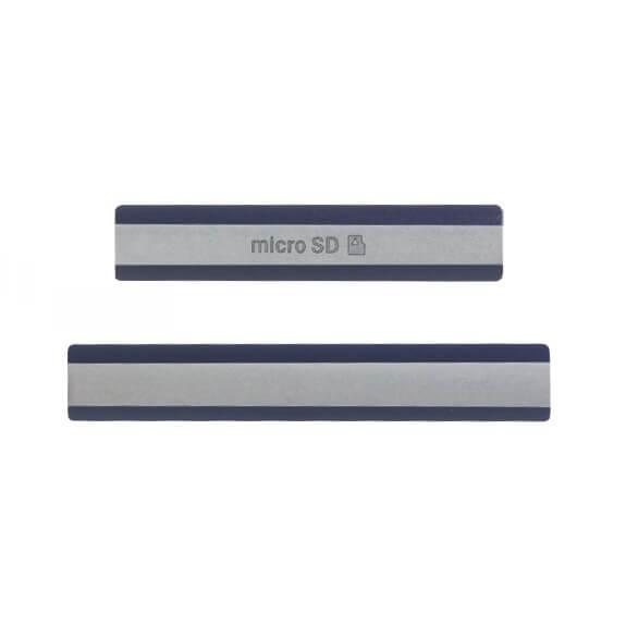 Комплект из 2-х заглушек (MicroSD, SIM + USB) для Sony Xperia Z2