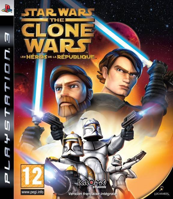 Игра Star Wars The Clone Wars Republic Heroes (PS3)