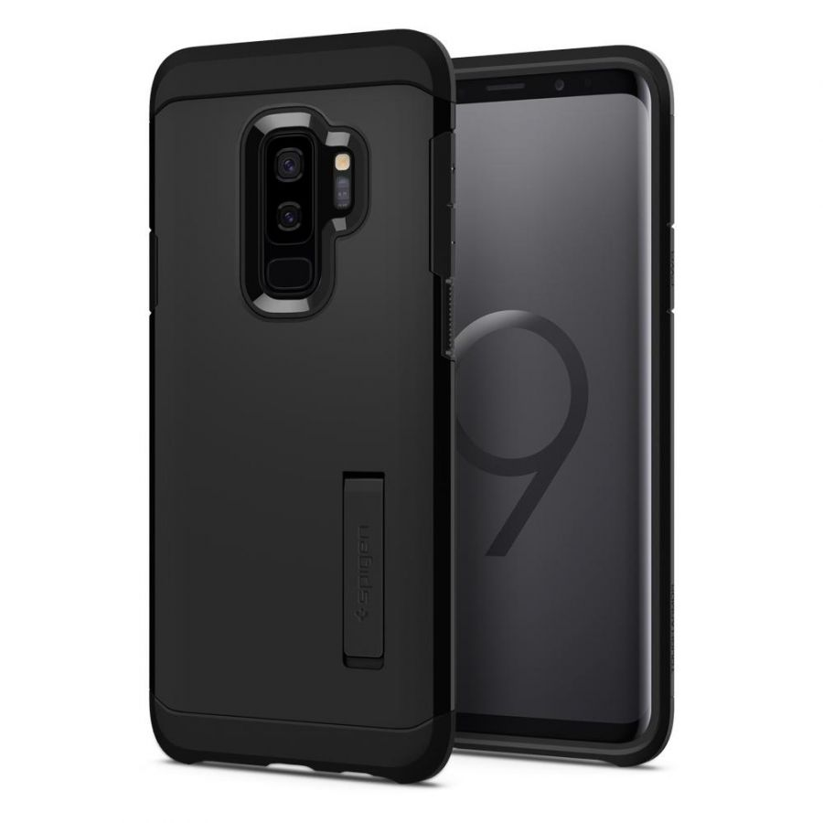 Чехол Spigen Tough Armor для Samsung Galaxy S9 Plus черный