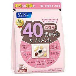 Fancl 40 витамины для женщин, на 30 дней.