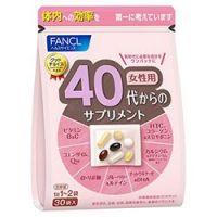 Fancl 40 витамины для женщин на 30 дней