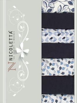 Трусы недельки женские Nicoletta M-XL / NTT13978